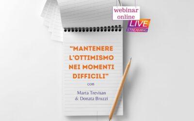 Evento online: Mantenere l'ottimismo nei momenti difficili